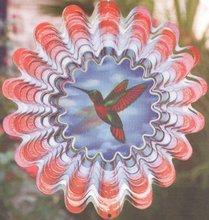 3D wind spinner garden ornament