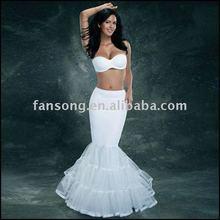 New arrival hot-sale mermaid bridal wedding petticoat