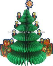 Christmas paper tree ornaments