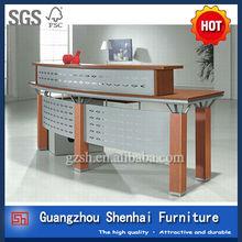 office curved reception desks SH-Q006