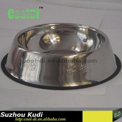 Stainless steel pet water bowl KD0403055