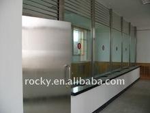 SELL 4/5/6/8/10/12mm glass reception window