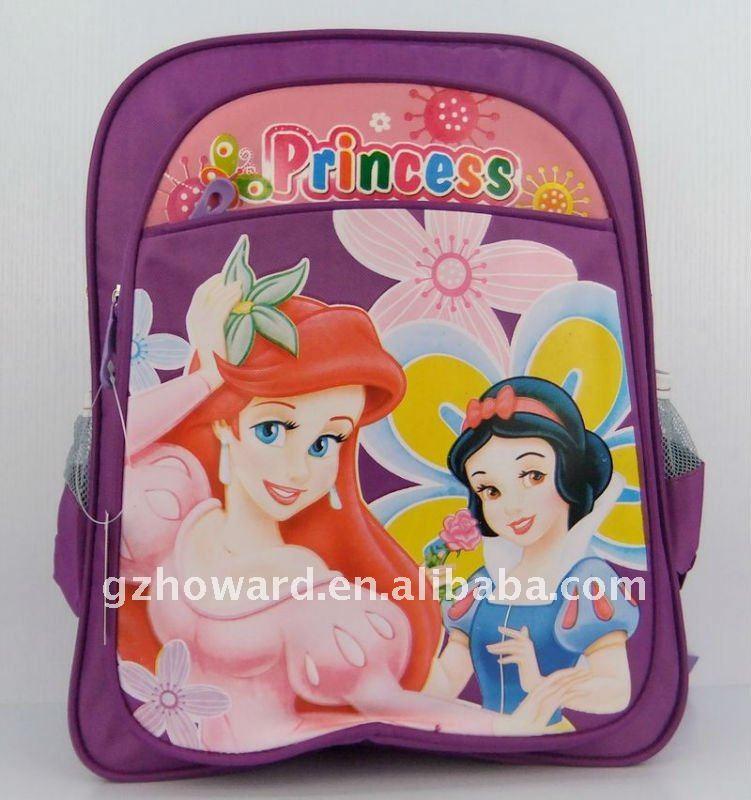 sac d'école de la fille bon marché de Cendrillon pour la fille