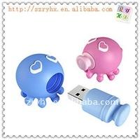 soft PVC usb flash pen drive