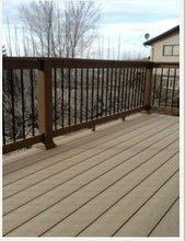 Waterproofing UV Resistant Recycled Outdoor Wood Terrace Deck