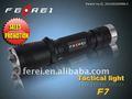 led de alta calidad pistola f7 cr123 antorcha de la batería