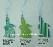 Wooden Ornament / Wooden Rabbit