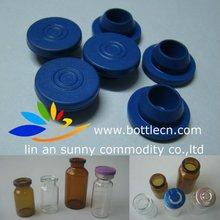 20mm blue butyl rubber stopper medical rubber