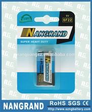 9V zinc carbon dry battery
