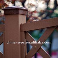 wpc fence stockade