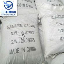 senza ferro solfato di alluminio per trattamento acque