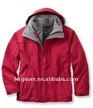 Men's fashionable waterproof breathable winter jackets
