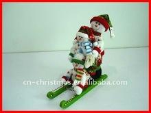 Christmas family set/snowman