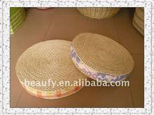 decorative handmade cornhusk straw cushion