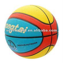 high quality rubber basketball, PU basketball,Size 7/6/5/3