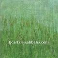 Verde color de la pared de imágenes pintura de texturas pesadas simple pinturas abstractas hechos a mano