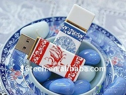 512 MB Creamic usb flash drives of factory price and higt quality