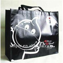 Cute Cartoon Printed Non Woven Shopping Bag