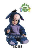 TZ-62183 Eeyore Plush Costume Baby Costume /Infant Baby Halloween Animal Costume