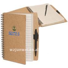 spiral paper notebook