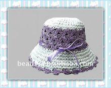 new design crochet children straw sun hat