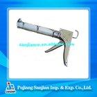 Chrome Plated aluminum cartridge caulking gun