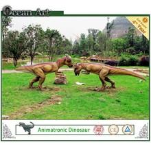 Hechos a mano atractivo parque temático de estar modelo de dinosaurio