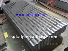 Corrugated iron roofing