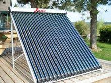 Solar keymark pressurized heat pipe solar collector