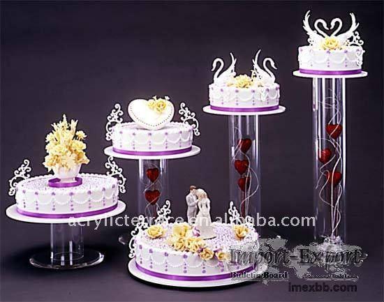 acrylique gâteau Stand / acrylique gâteau de mariage Stand-Outils de ...