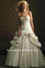 puffy wedding dress 2012