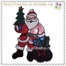 2012 new design pvc christmas window sticker