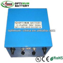 Rechargable solar storage batteries 36V 50Ah