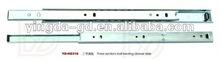 Two sections mini ball bearing drawer slide/table slide from slide factory