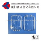 clear waterproof case for underwater camera, plastic injection