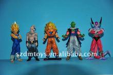 Custom PVC dragon balls-collectible anime characters