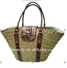 2012 summer fashion straw beach handbag
