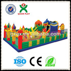 Kids paradise PVC inflatable sport game bounce castle (QX-1194D)/ inflatable party/jumping house