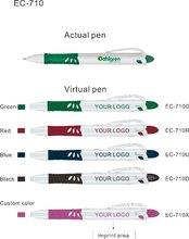 Promocional ECO caneta esferográfica com logotipo