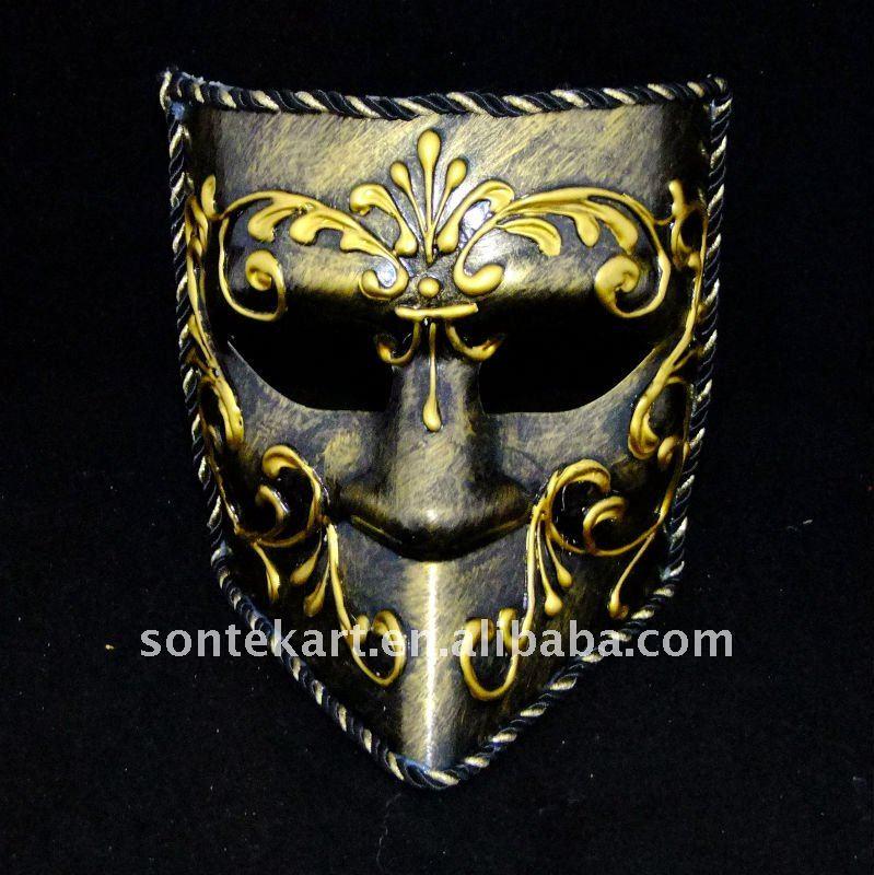 Facial inteira handmade projeto máscara de carnaval