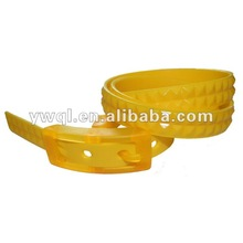 2012 Studded Silicone Belts