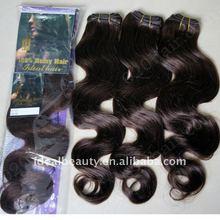 Ideal Hair Arts dark brown color 2 european human hair weavon