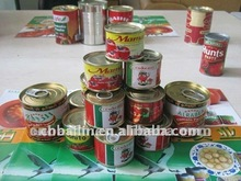 Canned tomato paste, bx28-30%, 400gr, canned food