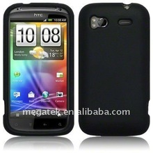 Mobile phone accessories phone case Rubber skin silicon case for HTC Sensation 4G G14
