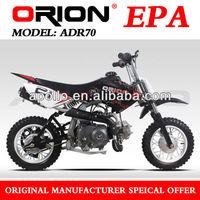 China Apollo ORION EPA 70CC Mini Dirt Bike Kids Pit bike Off Road Motorcycle