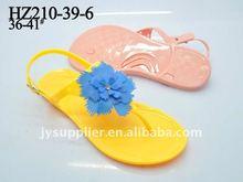 Beautiful&durable pvc jelly women sandal