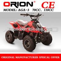 China Apollo ORION CE Gas 4 Stroke mini quad 110cc mini ATV 110cc kids atv AGA-3