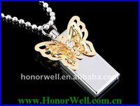 Promotional Bautiful Jewelry USB Flash Driver