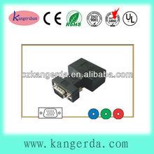 hdb 15p vga plug to 3 rca rgb jack vga to rca adaptor