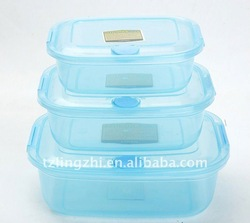 high transparent plastic food container